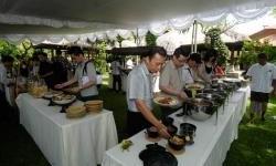Jamuan Makan Siang Saat Dealer Meeting Federal Oil di Bali