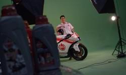 Photo Session I Doni Tata Pradita Tim Federal Oil Gresini Moto2