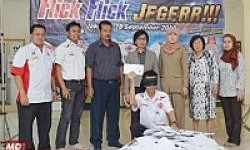 Federal Oil Lakukan Pengundian Program Flick Flick Jegerr!!!