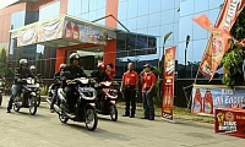 Federal Oil Uji Ketangguhan Flick dan Evotec 10W-40 Jawa-Bali