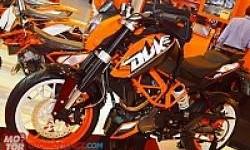 KTM Rakit Duke 200 di Indonesia Tahun Depan