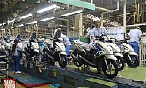 Pabrik Yamaha di Karawang Terbesar di Dunia