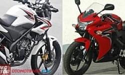 Honda CB150R dan CBR150R Serupa?