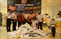 Pemenang Utama Undian Flick Flick Jegerr!!Periode II