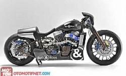 Konsep Dragster Harley Davidson untuk Juragan Jam dari Inggris