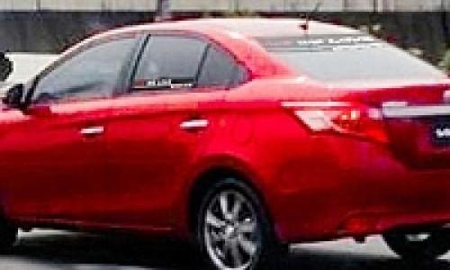 Penampakan Toyota New Vios  Muncul Dijalanan