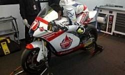 Doni Tata Lakoni Sesi Test Moto2 Valencia