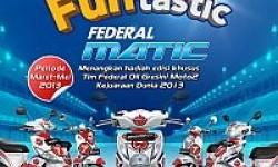 Ikutan Funtastic Federal Matic, Menangkan Lima Motor Matic