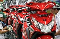 Transaksi Penjualan Sepeda Motor Tahun 2012 Capai Rp 75 Triliun