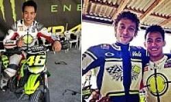 Doni Tata Latihan Bersama Valentino Rossi di Italia