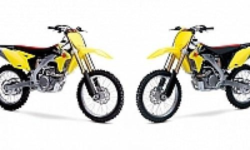 Duo Motorcross Suzuki Garuk Tanah Amerika