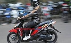 Skutik TVS Dazz Beredar Dijalanan Ibukota!