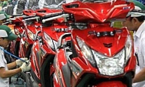 Penjualan Motor Bulan Juli 2013 Naik 6 Persen