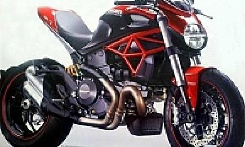 Inikah Wujud Asli Ducati Monster 2014?