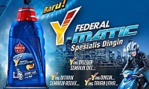 Federal Oil Y-Matic Pelumas Khusus Matik Yamaha