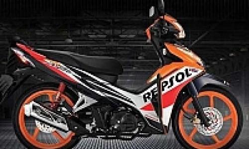 Honda Blade 110 R Berbaju MotoGP Lebih Keren!
