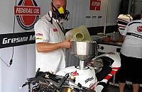Asiknya Berkunjung ke Paddock Tim Federal Oil Gresini Moto2 di Sepang