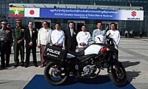 Suzuki V-Storm 650 Dipilih sebagai Pengawal di SEA Games 2013