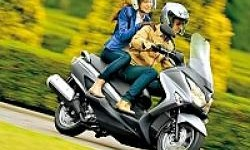 Skutik Gambot Suzuki Burgman 200 Masuk Indonesia