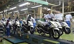 Januari 2014, Penjualan Terendah Sepeda Motor