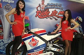 Federal Oil Usung Tema Ride to Win di Otobursa 2014