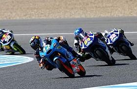 Duo Tim Estrella Galicia 0,0 Terdepan di FP2 Moto3 Le Mans, Perancis