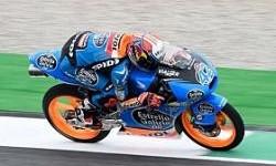 Alex Rins Huni Pole Moto3 Mugello, Italia