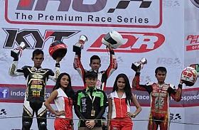 Rider Federal Oil Juarai IRS Sport 250 Seri Perdana di Sentul