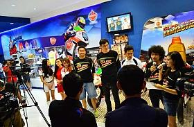 Semangat Ride to Win Hiasi Booth Federal Oil di Jakarta Fair 2014