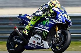 Hujan, Rossi Tercepat di FP3 MotoGP Assen, Belanda