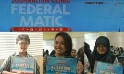 Pemenang Artikel Favorit Journalism Clinic Federal Matic di UNPAD