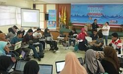 Peserta Journalism Clinic Federal Matic di UNPAD Membludak!
