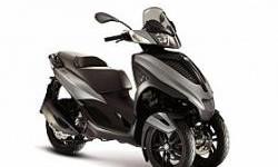 Piaggio Mp3 Mengaspal Lagi, Kapasitas Mesin 300 cc!