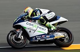 Aegerter Huni Pole Position Moto2 Jerman