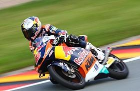 Miller Membuktikan Ketangguhannya di Moto3 Jerman