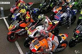 Berbahaya, Sebanyak 14 Rider MotoGP Start dari Pit Lane