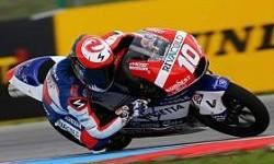 Masbou Ambil Keuntungan dari Kesalahan Miller untuk Naik Podium Moto3 Brno