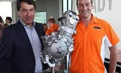 KTM Mulai Uji Mesin MotoGP Tahun 2015