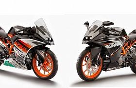 KTM RC 390 dan KTM RC 200 Meluncur Bersamaan!