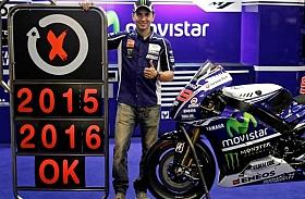 Yamaha dan Lorenzo Sepakat Perpanjang Kontrak Hingga 2016
