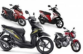 Penjualan Sepeda Motor Bulan Juli Turun 28,8 Persen