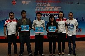 Pemenang Artikel Terbaik Journalism Clinic Federal Oil di Universitas Indonesia