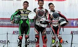 M Dwi Satria Raih Podium ke-3 di IRS Supersport 600 CC Seri 4