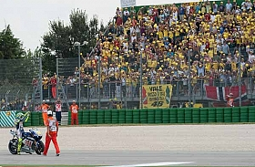 Valentino Rossi Optimis Hadapi Balapan di Kandang Sendiri