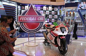 Federal Oil Hadir di Indonesia Motorcycle Show (IMOS) 2014