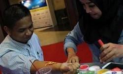 Tampil Keren Dengan Tattoo Gratis di Booth Federal Oil