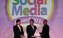 Federal Oil Raih Penghargaan Social Media Award 2014