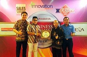 Dapat Apresiasi Konsumen Jatim, Federal Oil Raih Business Excellence Award 2014