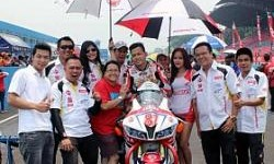 Terkendala Teknis, M Dwi Satria Finish di Posisi 4 Final Supersport IRS 2014