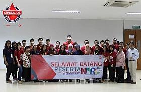Peserta National Marketing Research Competition Sambangi Pabrik Federal Oil